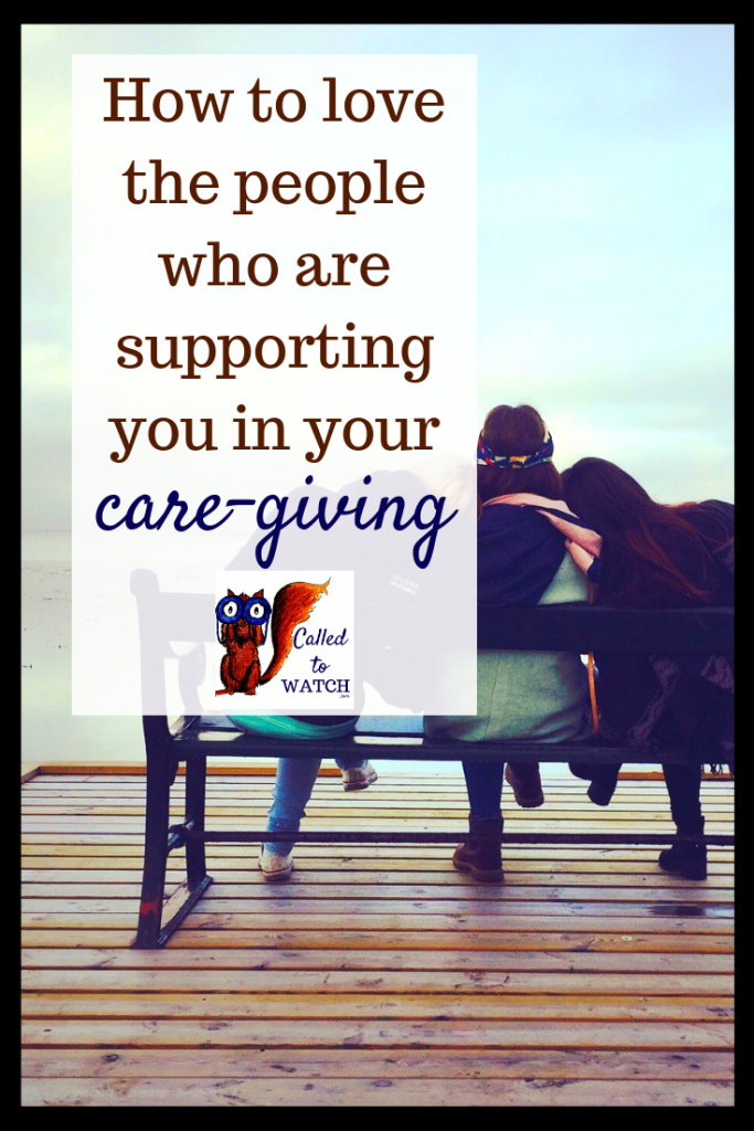 how to love the people supporting you #chronicillness #suffering #loneliness #caregiver #pain #caregiving #spoonie #faith #God #Hope