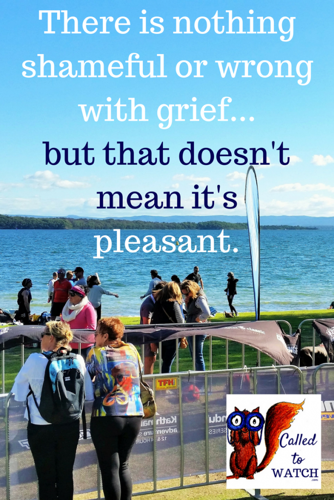 There is nothing shameful or wrong with grief over chronic illness ...but that doesn't mean it's pleasant.