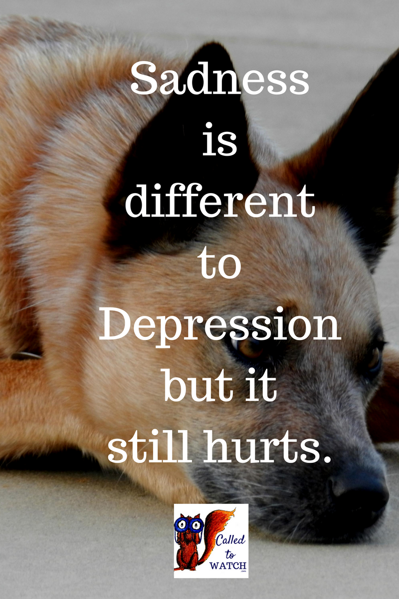 Sadness is different to depression, but after a chronic illness it still hurts